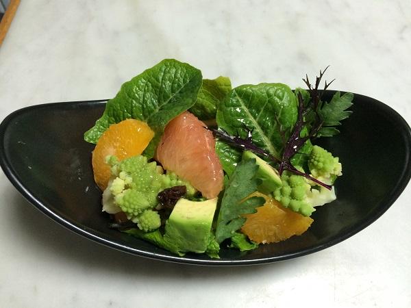 グリーン&フルーツサラダ